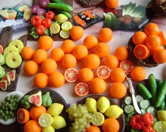 Lot 6 Orange (7-8 mm)