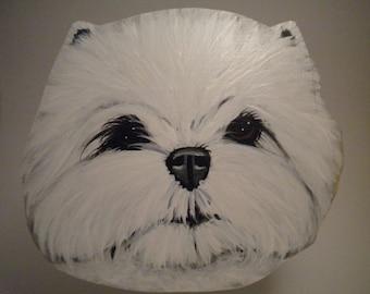 West Highland Terrier Treat Jar
