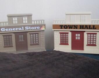 Vintage Toy Western Buildings