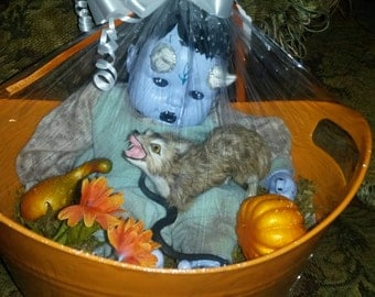 Halloween Reborn Demon Baby Doll