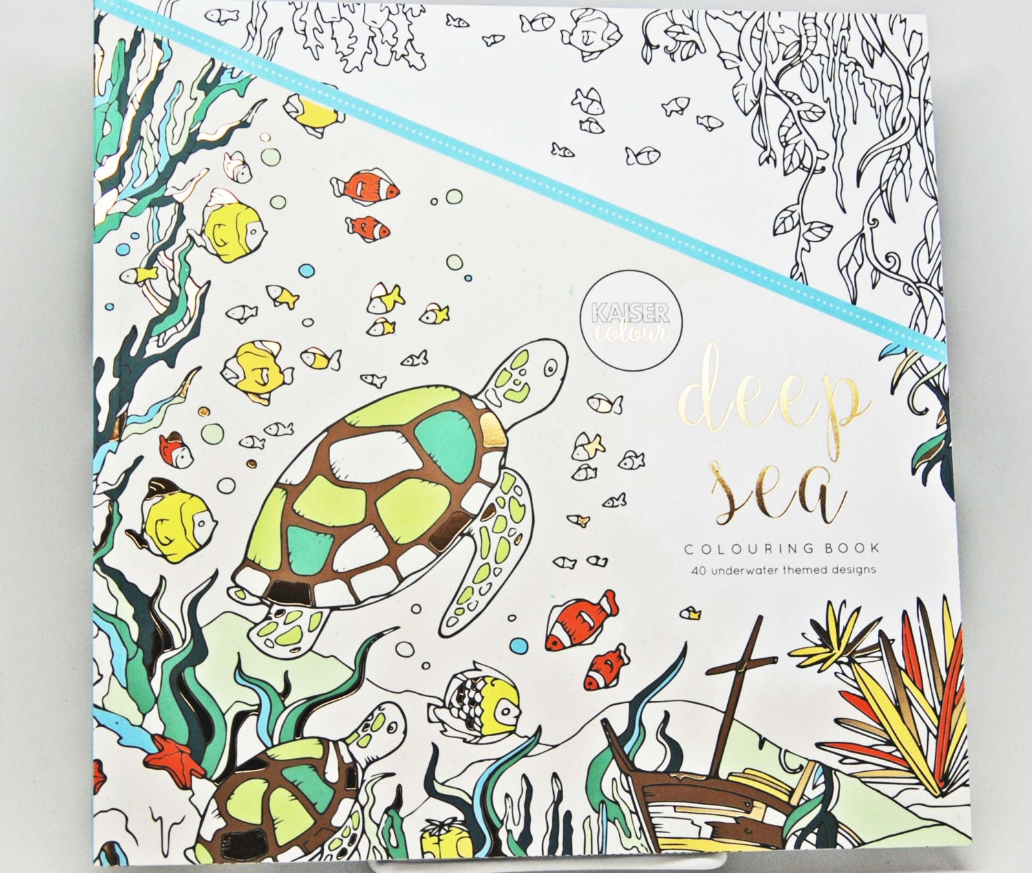 Under the sea coloring book for adults - Colouring Book Under The Sea Kaisercraft Kaiser Colour Deep Sea Coloring Book Adult Coloring Book
