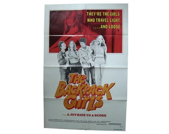 THE BACKPACK GIRLS original movie poster