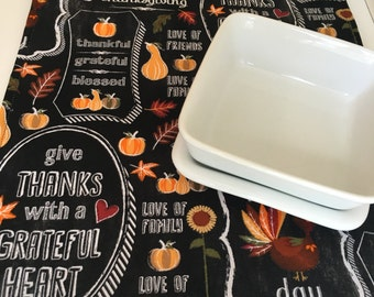 """Table Runner 144""""   Fall   Thanksgiving Table Runner   Centerpiece   Farmhouse Table Runner   Turkey Centerpiece   Turkey Table Runner"""