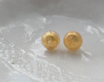 Murano Glass Small Stud Earrings