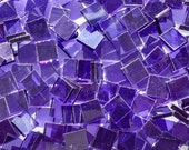 Grape Purple Stained Glass Mosaic Tiles