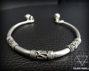Bracelet metal traditionnel Miao Yunnan Chine