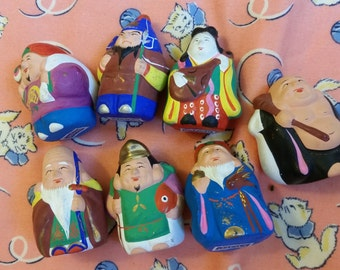 Tiny collectable clay figurines