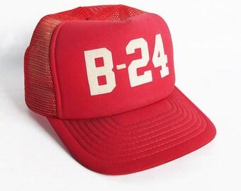 1970s World War Two Veteran B-24 Pilot's Truckers Hat