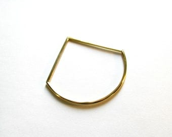 Modern Jewelry-Gold Bangle Bracelet-Minimalist Bangle-Geometric Bangle-Thin Gold Bangle Bracelet-Statement Bangle-Dainty Bangle