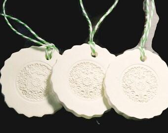 Ceramic Gift Tag or Ornament No3