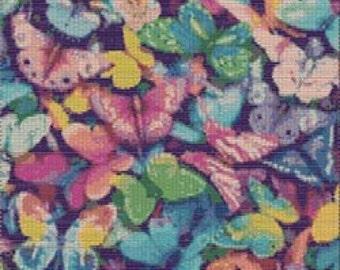 Digital PDF File Bead Stitch Patterns in Brick Peyote Loom - Butterflies
