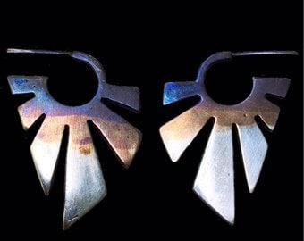 Sterling Sunset Earrings