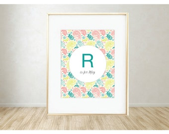 Personalized Printable Art: R is for...