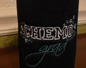 Cancer Awareness - Chemo Grad Bottle Cozy