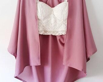 Handmade Kimono Cardigan (Je Ne Sais Quoi)