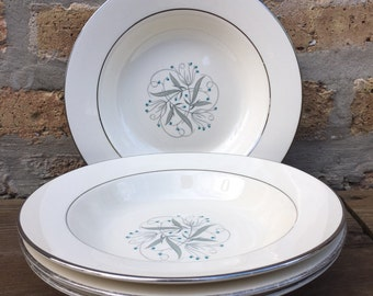 BOWLS - CELESTE china by Homer Laughlin -  bowls - made in america - priced per piece