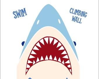 Shark Attack Invitation *Digital Download*