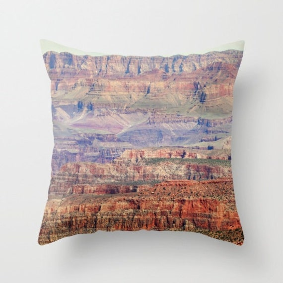 Southwestern Throw Pillow Covers : Southwestern Decor Grand Canyon Throw Pillow Cover Photo