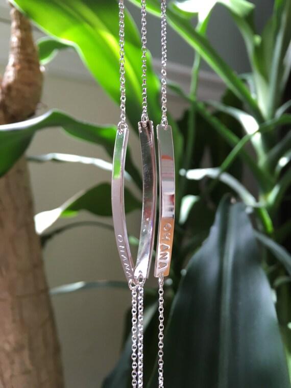 Silver Nameplate Bracelet,Name and Date Bracelet,Roman Numeral Bracelet,Bridesmaid Gift Bracelet,Graduation Gift for Her,New Mom Bracelet
