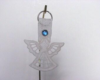 Lace Angel Key Ring