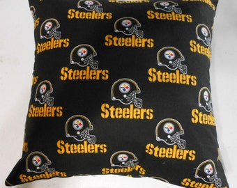 Toss Pillow Cover Pittsburgh Steelers
