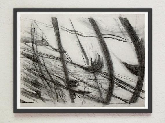 "Drawing - ""Landscape #5"""