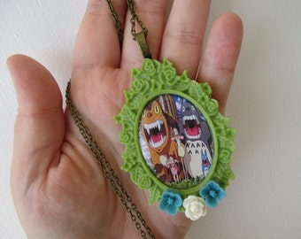 Totoro Necklace - Studio Ghibli Jewelry