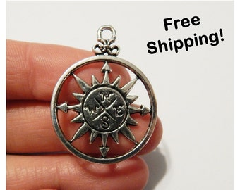 4 - Adventure Compass Charms