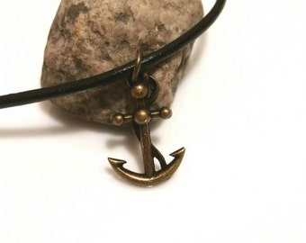 Anchor Necklace Nautical Jewelry Mens Gift Teen Boy Girl Trending Jewelry Sale
