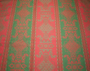 """French Damask Fabric 