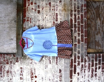 2X /The Wild Sky Hand-Dyed Dress/Tunic/Eco/Rustic/Country living/Cottage Chic