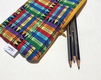 Zipper Pouch Pencil Pouch Pencil Case Crayons Kids School Supplies