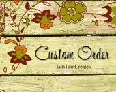 Custom order for abmontes