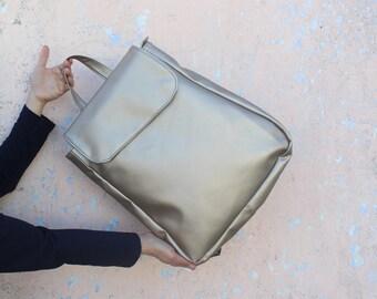 Satchel backpack purse, Vegan Leather Backpack, Laptop Backpack, Backpacks for women, travel Backpack, cool bag, Rucksack, urban, Laptop Bag
