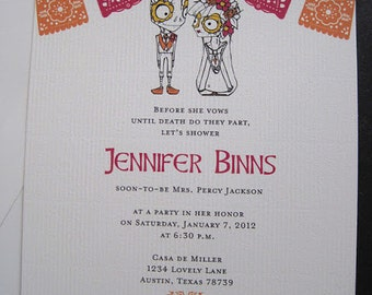Day of the Dead Invitations-Printable