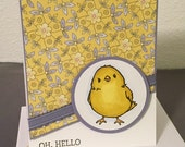 Any Occasion Chick Handmade Card