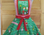 The Grinch Inspired Apron - Every Who down in Who-ville Liked Christmas Alot - Limited Edition
