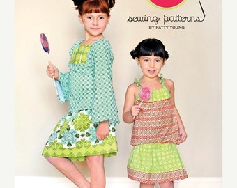 Summer Clearance NINA Modkid Sewing Pattern by Patty Young - Free US Shipping
