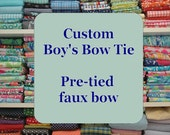 Custom Boy's Bow Tie