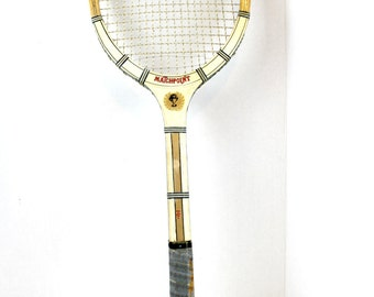 matchpoint tennis racket 7 ply lamination man cave sports wall decor prop rec