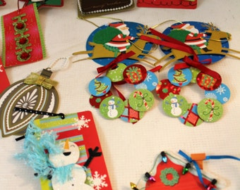Hallmark assorted Christmas gift tags craft supply