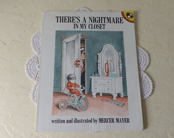 Children's Book: There's a Nightmare in my Closet, Mercer Mayer, Softcover