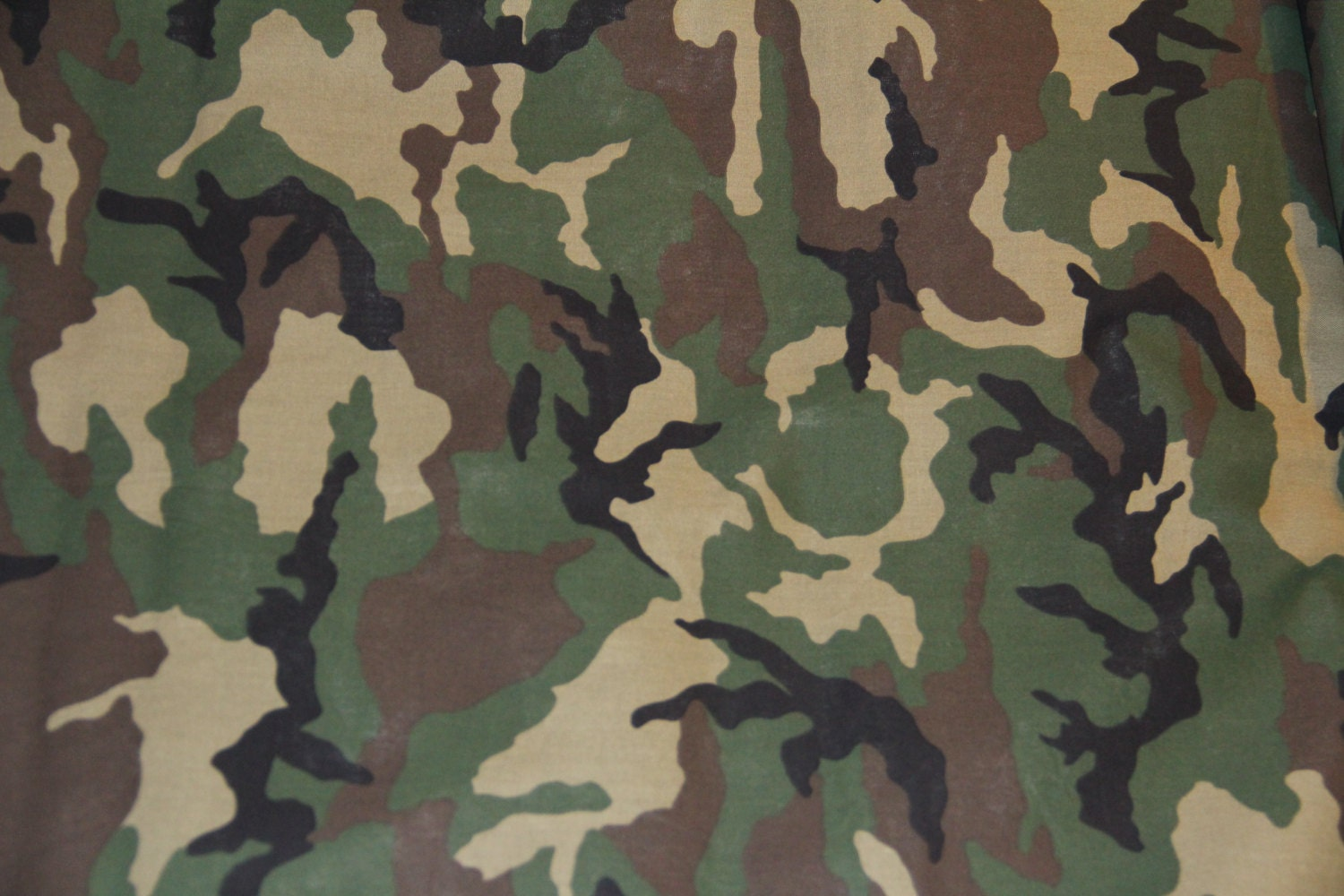 Traditional Army Green and Brown Camouflage by tambocollection