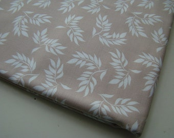 Leaf Fabric, Wooster and Prince Good Life Collection Organic Cotton Fabric, Half Yard, Robert Kaufman, OOP