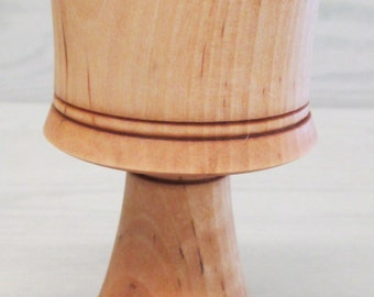 Wooden Birch Mead Goblet