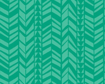 SALE Minky Baby Blanket - Emerald Geo Braid - Personalization Available - Toddler Blanket