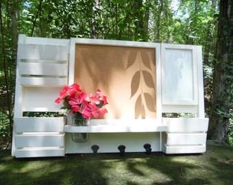 A Corkboard--Mail organizer--Message Board--Mail Holders