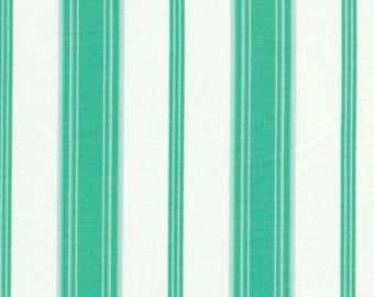 Verna Mosquera - Tea Cakes - Sugary Stripe in Jade - BTY cotton quilting fabric