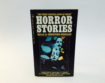 Vintage Horror Book The Third Fontana Book of Great Horror Stories 1971 Paperback Anthology