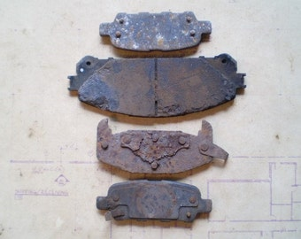 Rusty Metal Parts - Salvaged Supplies - Found Objects for Assemblage, Sculpture or Altered Art